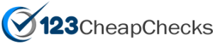 123 Cheap Checks Free Shipping