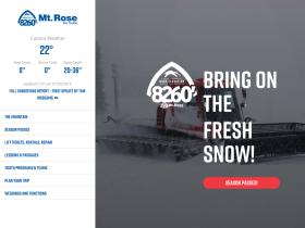 Mt Rose Coupon 20 Off