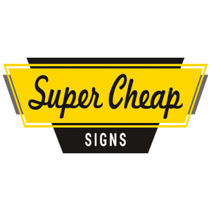 Super Cheap Signs Promo Code Free Shipping